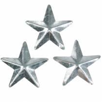 Stern Metall Silber 4cm 48St