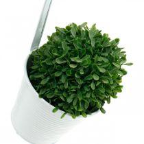 Pflanzgefäß, Blumentopf zum Hängen, Blumendeko, Hängetopf Weiß Ø13,5cm