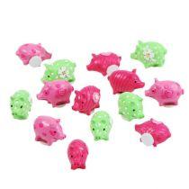 Mini Glückschweine bunt 2,5cm 45St