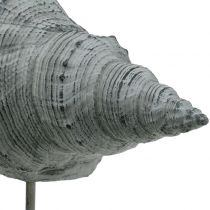 Gartenfigur Muschel am Ständer H30cm