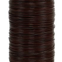 Myrtendraht Braun 0,35mm 100g