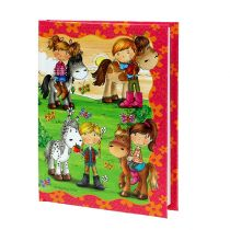 Notizbuch Ponyhof für Mädchen A6 1St