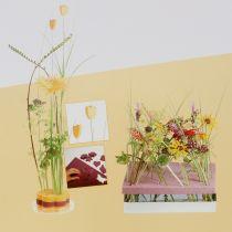 Steckschaum Designer Platten Steckmasse Gelb 34,5cm × 34,5cm 3St