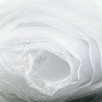 Dekostoff Organza Weiß 150cm x 300cm