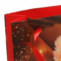 Geschenktüten Set Weihnachtsmotiv Santa Rot 20cm × 30cm × 8cm