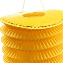 Zuglaterne Gelb Ø10cm H13cm 8St