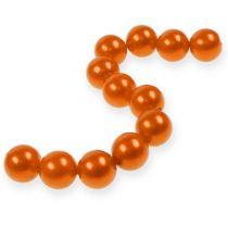 Deko-Perlen Ø2cm Orange 12St