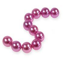Deko-Perlen Ø2cm Lila 12St