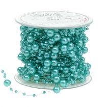 Perlenband Türkis 6mm 15m