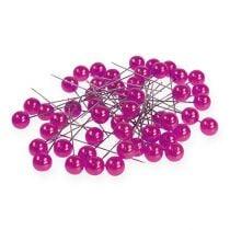 Perlkopfnadeln Pink Ø10mm 60mm