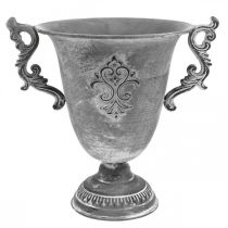 Pokal Grau Ø20,5cm H26,5cm