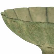 Pokal Schale Antik Grün Ø13cm H11,5cm