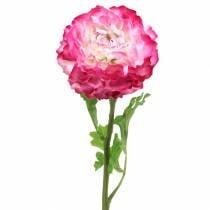 Ranunkel Pink künstlich 48cm