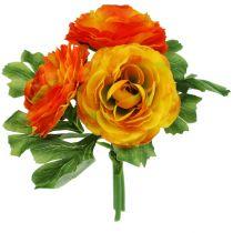 Ranunkelstrauß orange L 20cm