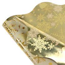 Rondella Weihnachtsmotiv Gold Ø40cm 50St