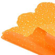 Rondella Punkte Orange Ø68cm 50St