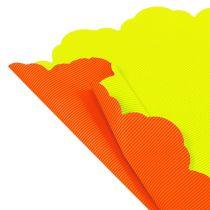 Rondella Ø48cm zweifarbig Orange-Gelb 50St