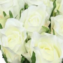 Rose Weiß 42cm 12St