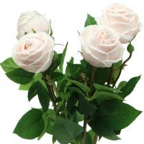 Rosenstrauß Zartrosa 65cm 4St