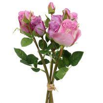 Rosenstrauß Altrosa 40cm