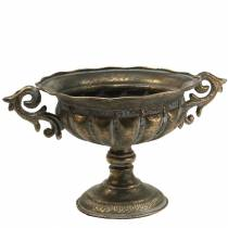 Pokal Schale Antik Gold Ø28cm H23cm