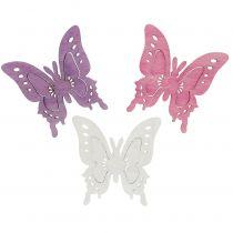 Schmetterlinge zum Streuen sortiert 4cm 72St
