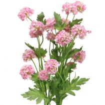 Schneeball Zweig Rosa 42cm