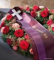 Trauerbänder individuell gestalten