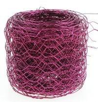 Sechseckgeflecht Pink 50mm 5m