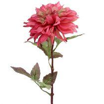 Seidenblume Dahlie Rosa Ø15cm L55cm