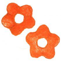 Sisalblume Orange Ø7,5cm 25St
