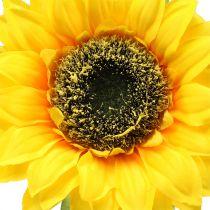 Sonnenblume künstlich für Dekoration Ø15cm