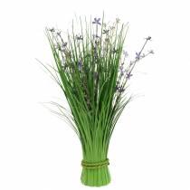 Deko Stehstrauß mit Wiesenblumen künstlich Flieder 51cm