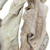 Deko-Blätter Strelitzienblätter weißgewaschen 120cm 10St