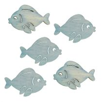 Streu-Fische Hellblau 4cm 48St
