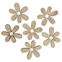 Streudeko Blumen 2cm Natur 144St