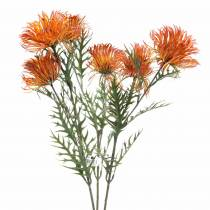Xanthium-Zweig Orange 69cm 3St