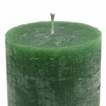 Durchgefärbte Kerzen Taxus 70×120mm 4St