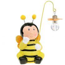 Dekofigur Biene mit Licht H21cm