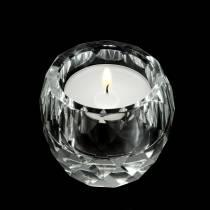 Teelichthalter Diamant Klar Ø6cm Tischdeko