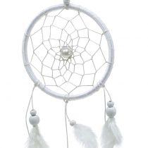 Traumfänger mit Federn Weiß 50cm 2St