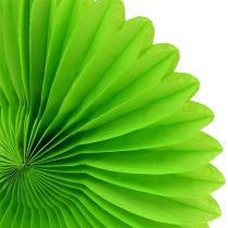 Wabenpapier Blume Grün Ø20cm 3St