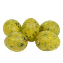 Wachtelei 3cm Gelb 60st