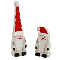 Weihnachtsmann 17cm 6St