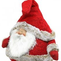 Weihnachtsmann Kantenhocker Deko-Figur Weihnachten 28×22×88cm