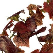 Weinlaub Girlande Dunkelrot 190cm