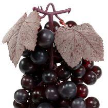 Lila Kunststoff künstliche Haufen Weintraube imitieren Obst Dekoration