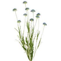 Wiesenblumen Blau L65cm 3St