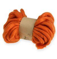 Wollband 50g / 9m Orange