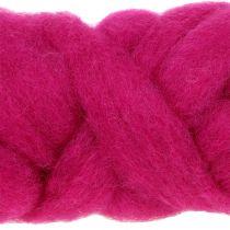 Wolllunte 10m Pink